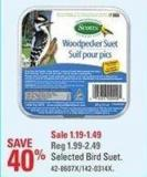 Scotts Selected Bird Suet