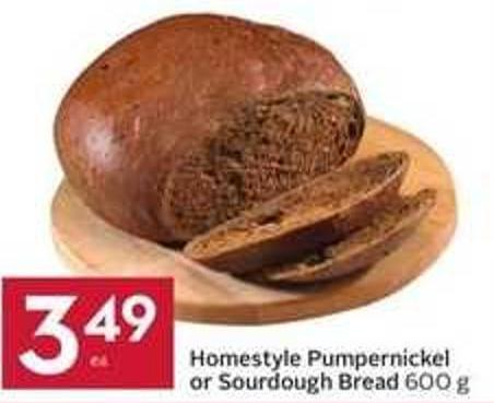 Homestyle Pumpernickel