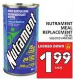 Nutrament Meal Replacement
