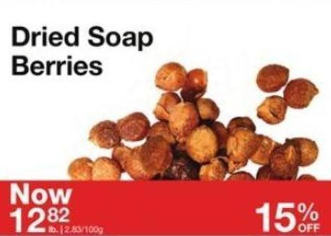 Dried Soap Berries
