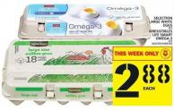 Selection Large White Eggs Or Irresistibles Life Smart Oméga-3