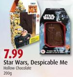 Star Wars - Despicable Me Hollow Chocolate 200g