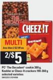 PC The Decadent Cookie - 300 G - Keebler Or Cheez-it Crackers - 190-360 G