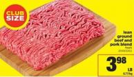 Lean Ground Beef And Pork Blend