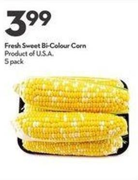 Fresh Sweet Bi-colour Corn