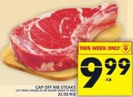 Cap Off Rib Steaks