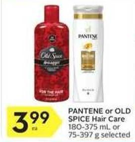 Pantene or Old Spice Hair Care