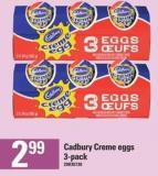 Cadbury Creme Eggs 3-pack
