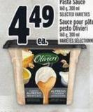 Olivieri Pesto Or Pasta Sauce 160 g - 300 ml