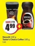 Nescafé 100 g Taster's Choice Coffee 100 g