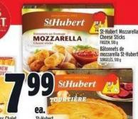 St-hubert Mozzarella Cheese Sticks