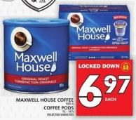 Maxwell House Coffee Or Coffee PODS
