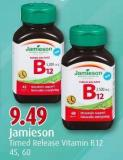 Jamieson Timed Release Vitamin B12 45 - 60