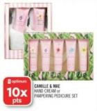 Camille & Mae Hand Cream or Pampering Pedicure Set