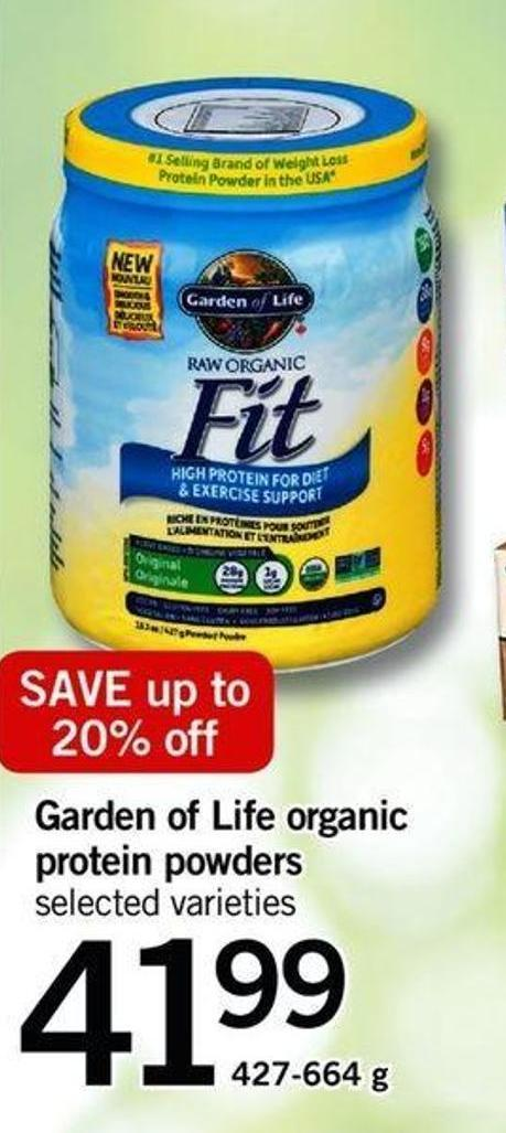 Garden Of Life Organic Protein Powders - 427-664 G