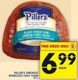 Piller's Smoked Boneless Half Ham