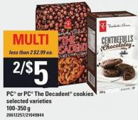 PC Or PC The Decadent Cookies - 100-350 g