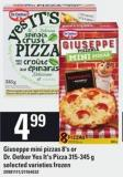 Giuseppe Mini Pizzas 8's Or Dr. Oetker Yes It's Pizza 315-345 G