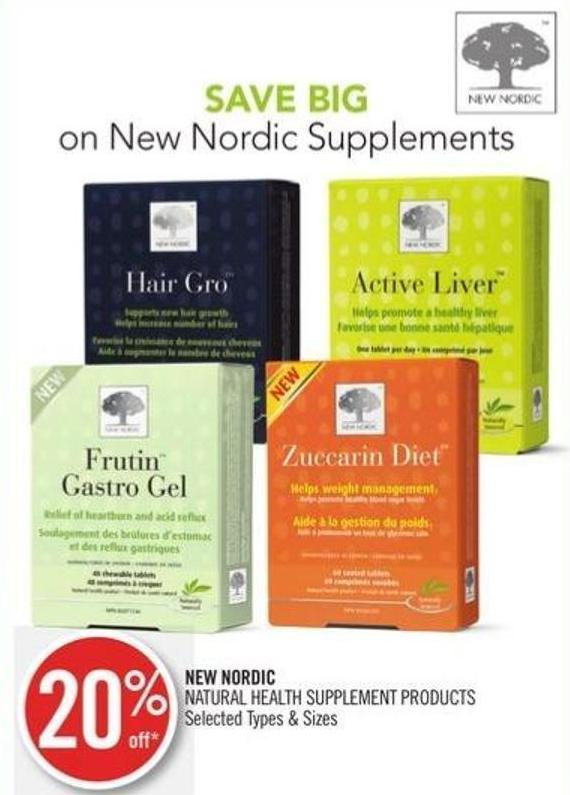 New Nordic Natural Health Supplement Products