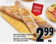 Front Street Bakery Baguettes 325 g