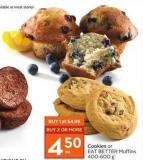 Cookies or Eat Better Muffins 400-600 g