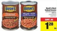 Bush's Best Baked Beans - 398 Ml