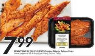 Sensations By Compliments Smoked Atlantic Salmon Strips