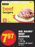 No Name Beef Burger - 1.36 Kg