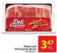 Maple Leaf Deli Express Bacon
