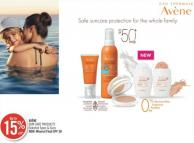 Avène Sun Care Products