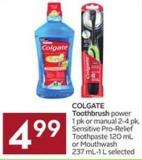 Colgate Toothbrush Power