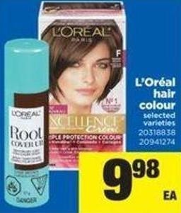 L'oréal Hair Colour