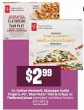 Dr. Oetker Momenti - Giuseppe Garlic Fingers - PC - Blue Menu Thin & Crispy Or Flatbread Pizza  - 170-397 G