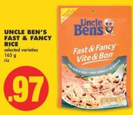 Uncle Ben's Fast & Fancy Rice.165 g