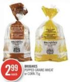 Broghies Popped Grains Wheat or Corn 75g