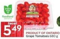 Product Of Ontario Grape Tomatoes 680 g