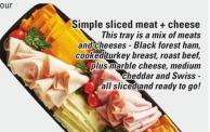 Simple Sliced Meat + Cheese
