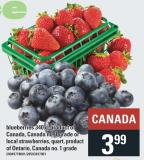 Blueberries 340 g - Local Strawberries