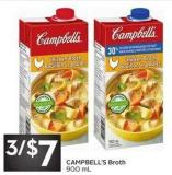 Campbell's Broth 900 mL