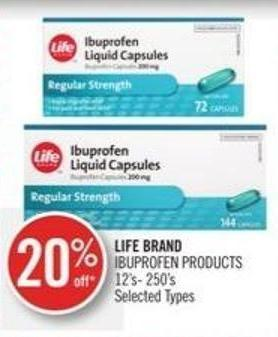 Life Brand Ibuprofen Products
