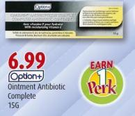 Option+ Ointment Antibiotic Complete 15g