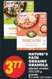 Nature's Path Organic Granola - 325/350 g