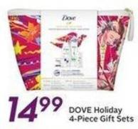 Dove Holiday 4-piece Gift Sets