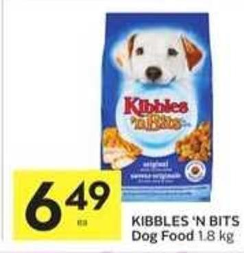 Kibbles 'N Bits Dog Food