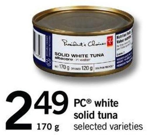 PC White Solid Tuna - 170 G