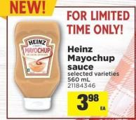 Heinz Mayochup Sauce - 560 mL