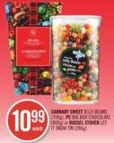Carnaby Sweet Jelly Beans (700g) - PC Big Box Chocolate (800g) or Russel Stover Let It Snow Tin (284g