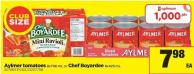 Aylmer Tomatoes - 8x796 Ml Or Chef Boyardee - 8x425 Ml