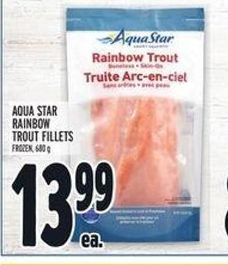 Aqua Star Rainbow Trout Fillets