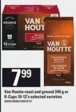 Van Houtte Roast And Ground - 340 G Or K-cups - 10-12's